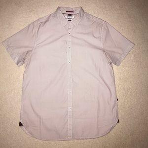 Denim & Flower Slim Fit Short Sleeve Button Down